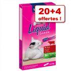 Friandises Vitakraft liquides 20 x 15 g + 4 offerts !