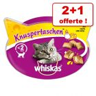 Friandises Whiskas pour chat : 2 achetées +1 offerte !