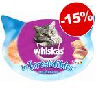 Friandises Whiskas pour chat : 15 % de remise !
