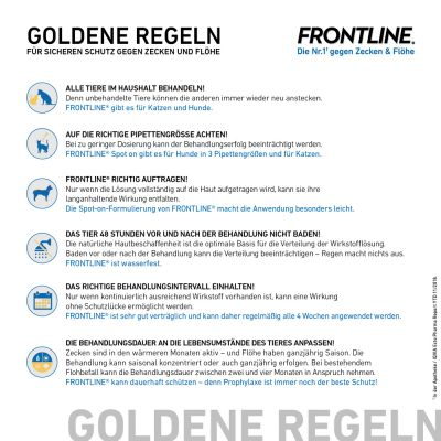 Frontline® Anti-Zecken Sparpaket: Spray + Spot on Hund