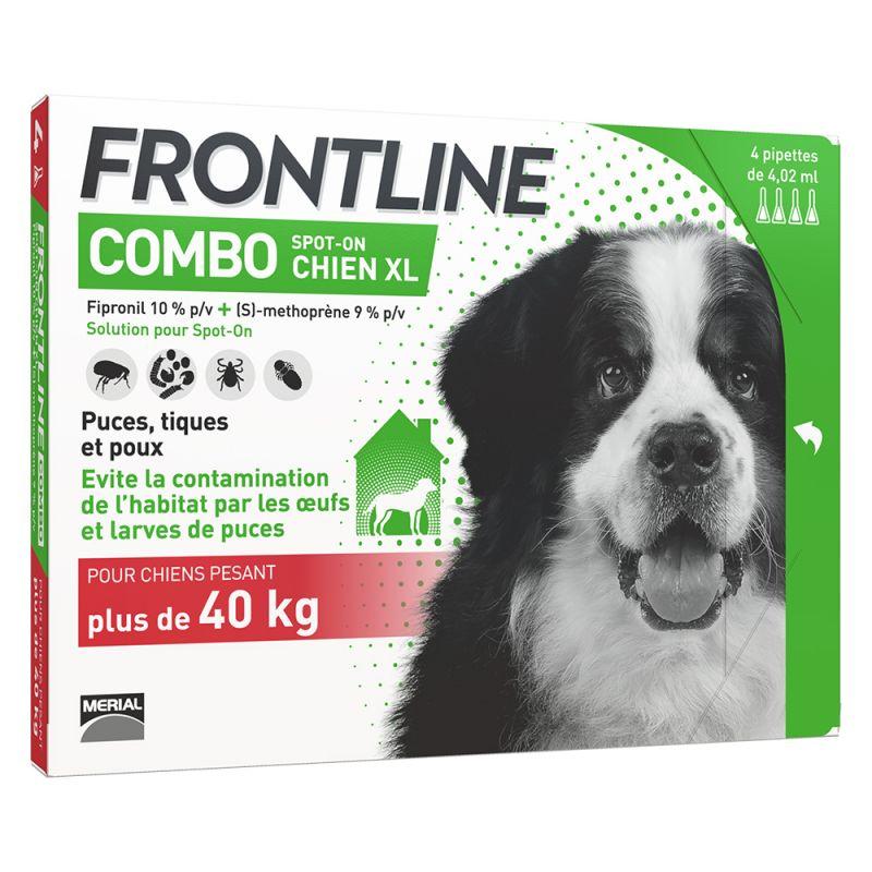 FRONTLINE Combo Chien XL, 40- 60 kg