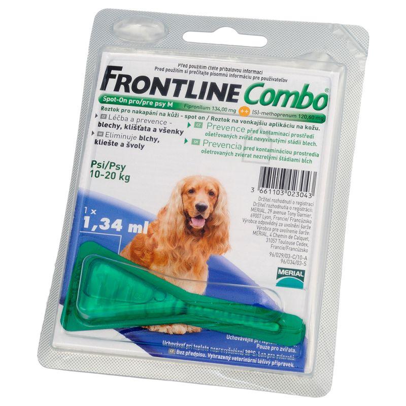 Frontline Combo Spot-On pro psy M roztok pro nakapání na kůži