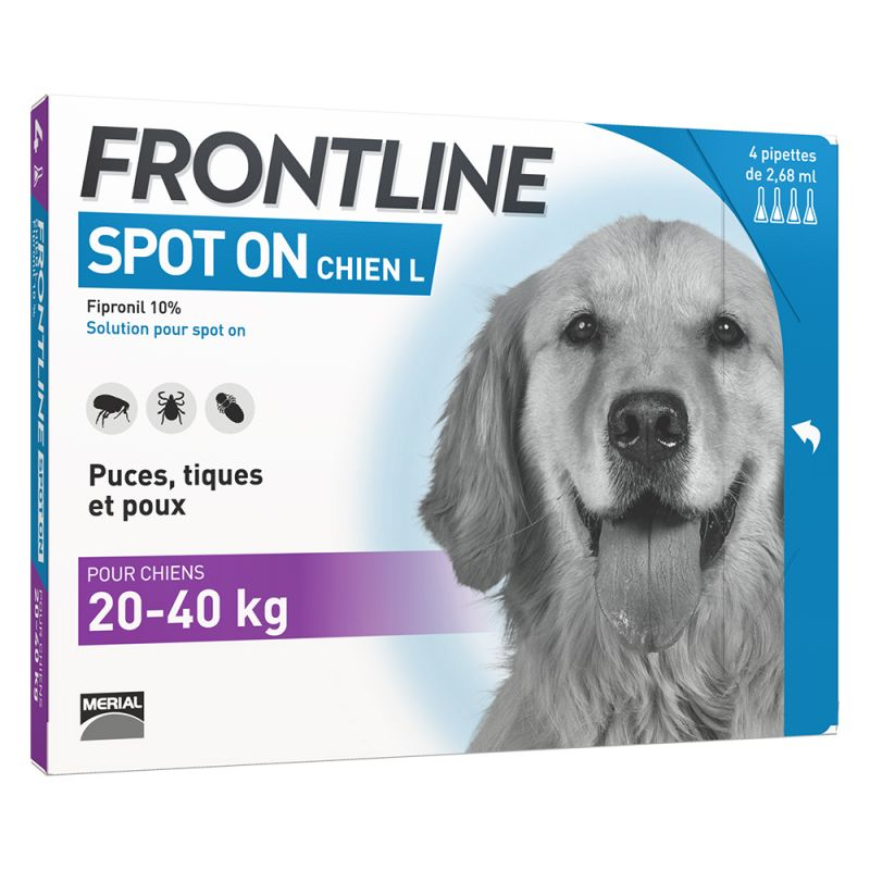 FRONTLINE Spot-On Chien L, 20 - 40 kg