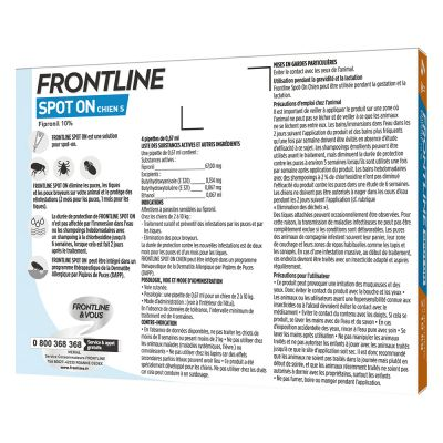 FRONTLINE Spot-On Chien S, 2 - 10 kg
