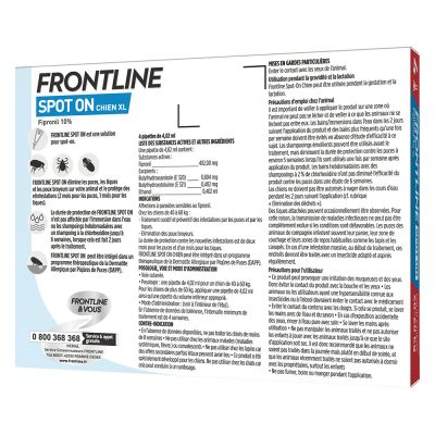 FRONTLINE Spot-On Chien XL, 40 - 60 kg