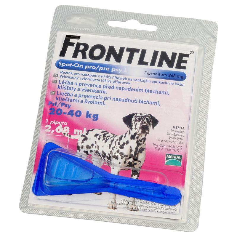 FRONTLINE SPOT-ON pro psy L roztok pro nakapání na kůži