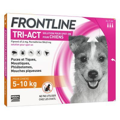 collier pour chien frontline
