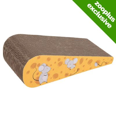 Fun Cardboard Cheese Wedge Scratch Block