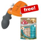 FURminator Dog Grooming Tools + 8in1 Delights Pro Dental Sticks Free!*