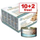 70g Applaws Wet Cat Food Mixed Packs - 10 + 2 Free!*
