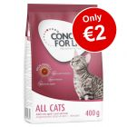 400g Concept for Life Dry Cat Food - Only €2!*