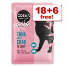 100g Cosma Original/Asia in Jelly Wet Cat Food Pouches - 18 + 6 Free!*
