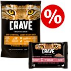 750g Crave Adult Dry Cat Food + 4 x 85g Crave Wet Food - Special Bundle!*
