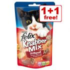 60g Felix Goody Bag Treats - Buy One, Get One Free!*