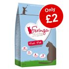 400g Feringa Dry Cat Food - Only £2!*
