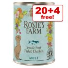 400g Rosie's Farm Wet Dog Food - 20 + 4 Free!*
