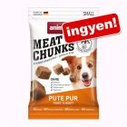 30 g Animonda Meat Chunks Small - pulyka pur ingyen!