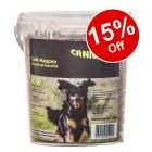 540g Caniland Soft Ostrich Chunks - Grain-Free Dog Snacks - 15% Off!*
