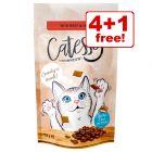 65g Catessy Crunchy Snacks - 4 + 1 Free!*