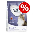 400g Concept for Life Dry Cat Food - Buy One Get One Half Price!*