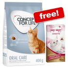 400g Concept for Life Dry Cat Food + My Star Snack Free!*
