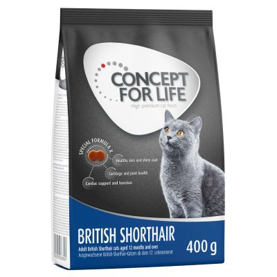 400g Concept for Life Dry Cat Food - Only £2!*