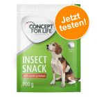 100 g Concept for Life Insect Snack zum Probierpreis!