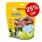 200g Cookie's Dog Snacks Pollock & Chicken Strips - 25% Off!*