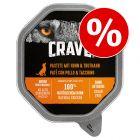 150 g Crave Adult Dog Paté till sparpris!