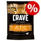 750 g Crave Adult Katzenfutter zum Sonderpreis!