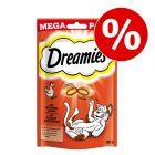 180 g Dreamies Katzensnacks Mega Pack zum Sonderpreis!