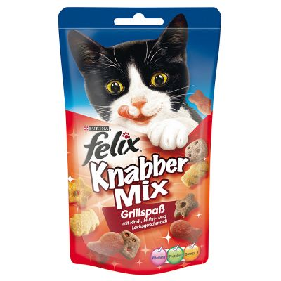 60g Felix Goody Bag Treats - 6 + 3 Free!*