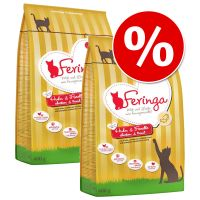 400g Feringa Dry Cat Food - Buy One, Get One Half Price!*