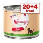 200g Feringa Menu Kitten Wet Food -  20 + 4 Free!*