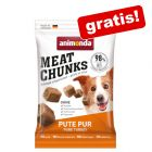 30 g Friandises Animonda Meat Chunks Small dinde pure pour chien offertes !