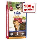 500 g + 500 g gratis! 1 kg Bosch Adult Trockenfutter