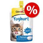 150 g GimCat joghurt / puding macskáknak 20% árengedménnyel!