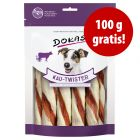 100 g gratis! 200 g Dokas Kau-Twister