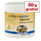 130 + 50 g gratis! 180 g LUPO Biotine+