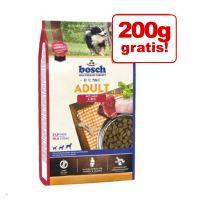 800 + 200 g gratis! 1 kg bosch hrană uscată pentru câini