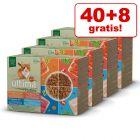 40 + 8 g gratis! 48 x 85 g Ultima Nature Kattenvoer