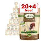 300g Lukullus Pouches Wet Dog Food - 20 + 4 Free!*