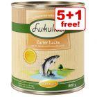800g Lukullus Seasonal Menu Wet Dog Food - 5 + 1 Free!*