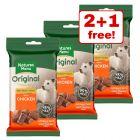 60g Natures Menu Original Meaty Chicken Dog Treats - 2 + 1 Free!*