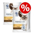 750g Perfect Fit Dry Cat Food - Buy One Get One Free!*
