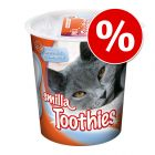 125g Smilla Toothies Dental Care Cat Snacks - Special Price!*