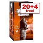 85g Wild Freedom Adult Wet Cat Food Trays - 20 + 4 Free!*