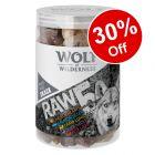 150g Wolf of Wilderness RAW 5 Mix Freeze-dried Dog Snacks - 30% Off!*