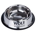 Gamelle en inox Wolf of Wilderness pour chien