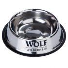 Gamelle en inox Wolf of Wilderness pour chien